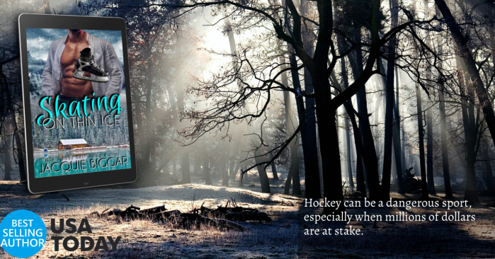 Skating on Thin Ice by @jacqbiggar #RomanticSuspense #NewRelease