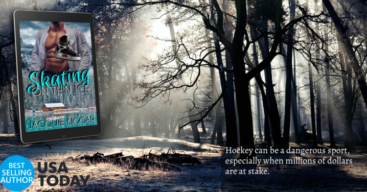 Skating on Thin Ice by @jacqbiggar #RomanticSuspense #NewRelease