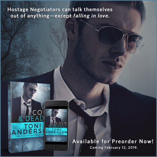 Hostage Negotiators can talk themselves out of anything… Cold & Deadly by @toniannanderson #RomanticSuspense #amreading@InkSlingerPR