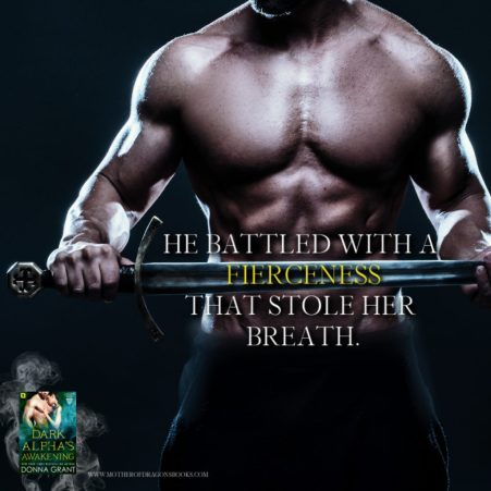 There is no escaping a Reaper… Dark Alpha's Awakening by Donna Grant #Fantasy #Romance@InkSlingerPR