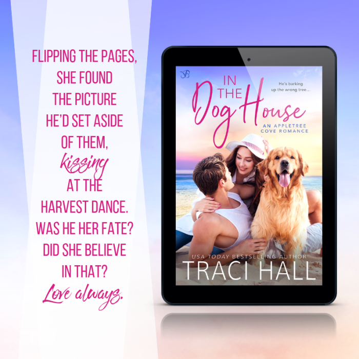 In The Dog House by Traci Hall #NewRelease #Romance @TraciHallAuthor