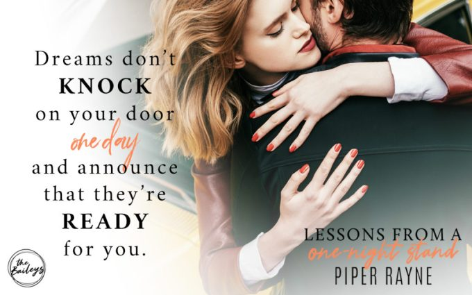 Lessons From A One-Night Stand by Piper Rayne #Romance #Reading@InkSlingerPR