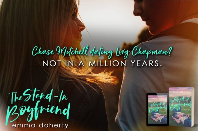The Stand-In Boyfriend by Emma Doherty #NewRelease #Romance @InkSlingerPR