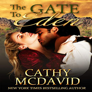 Not your ordinary thief… The Gate to Eden by @CathyMcDavid #Audiobook #Romance @PrismBookTours