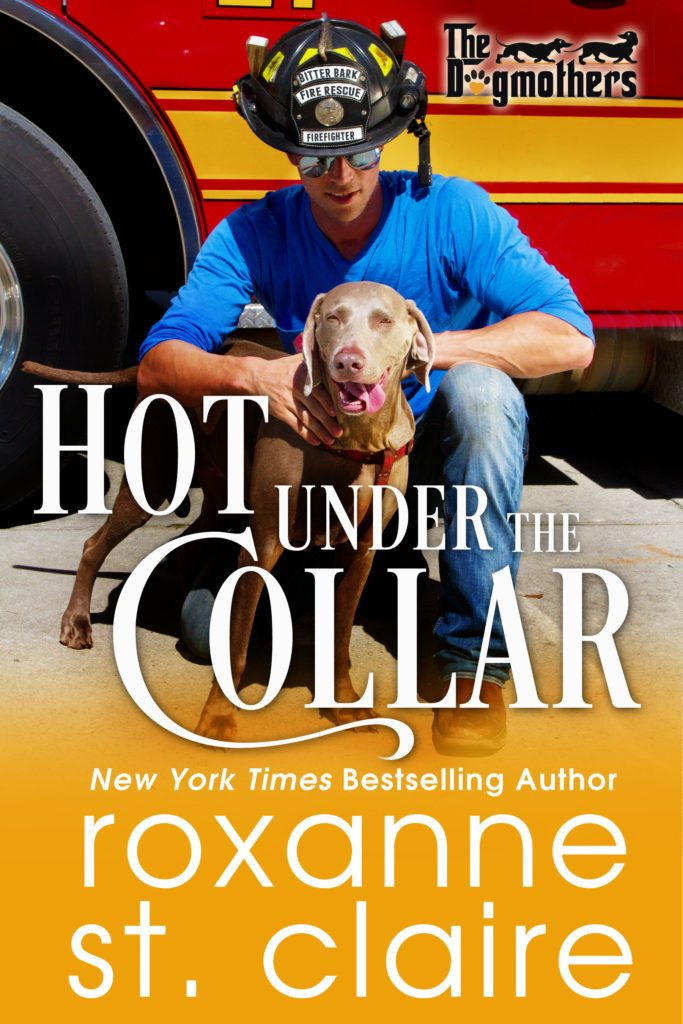 Hot Under the Collar by @RoxanneStClair #CoverReveal #Romance@InkSlingerPR