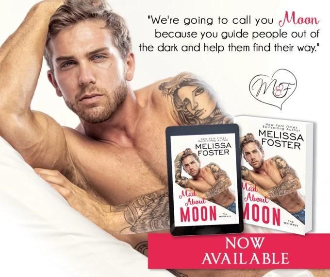 Can true love strike twice in one lifetime?  Mad About Moon by @Melissa_Foster #Romance #Reading @InkSlingerPR