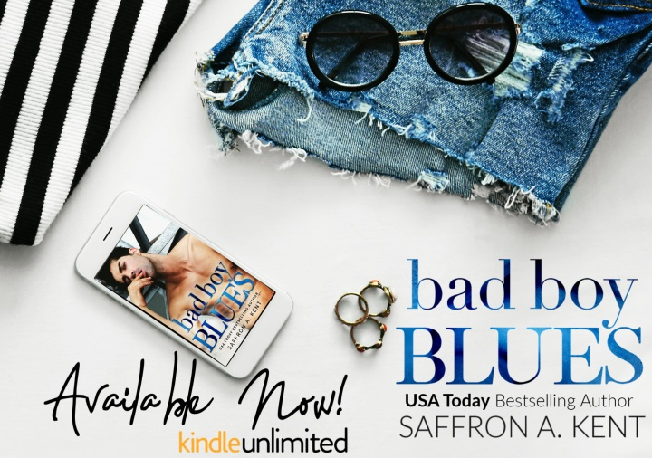 Bad Boy Blues by Saffron A. Kent #Romance#Read