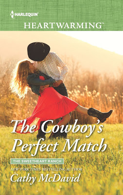 The Cowboy's Perfect Match by @CathyMcDavid #Harlequin #Romance @PrismBookTours