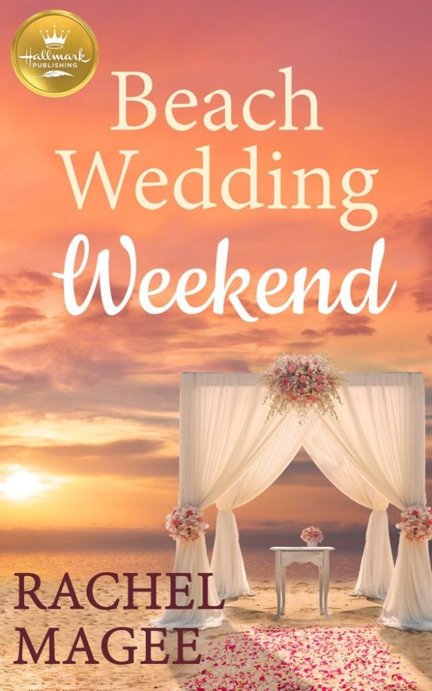 Beach Wedding Weekend by Rachel Magee #Romance #Reading @InkSlingerPR @rachell_magee @HallmarkPublish