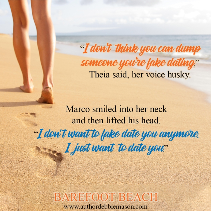 Barefoot Beach by Debbie Mason #Romance #SummerReading @authorspal @AuthorDebMason