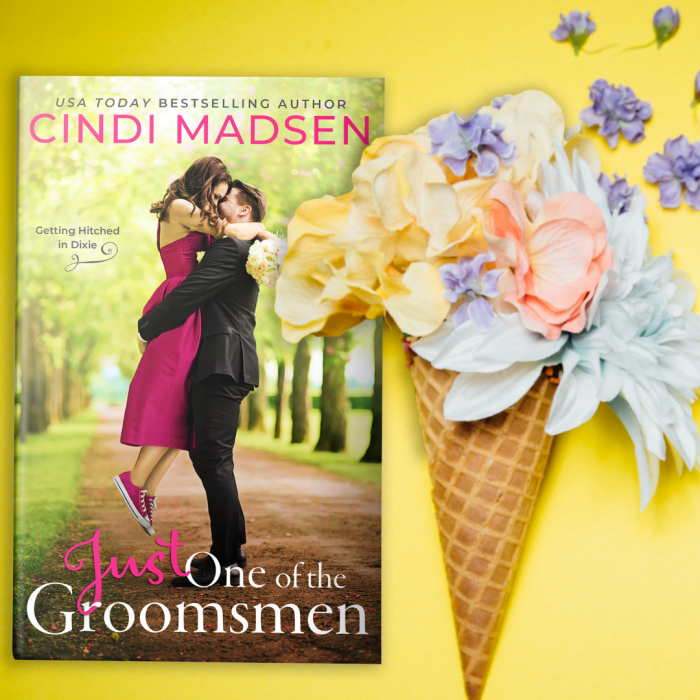 Just One of the Groomsmen by @CindiMadsen #NewRelease #Romance @EntangledPub @authorspal
