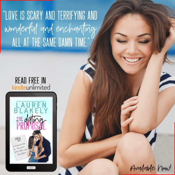 Watch out world — I'm ready to date again… The Dating Proposal by @LaurenBlakely3 #Romance #KindleUnlimited @InkSlingerPR