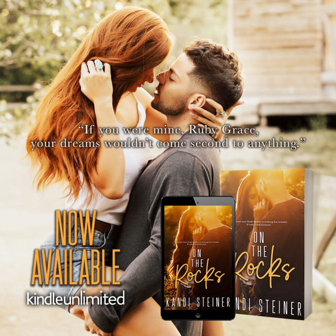 He sees me—the real me… On the Rocks by @KandiSteiner #NewRelease#Romance