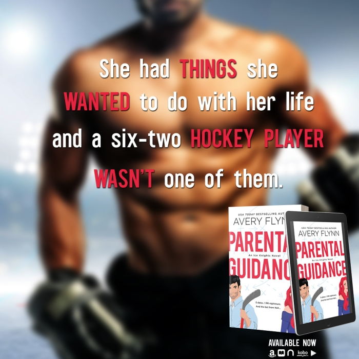 Five dates—that's it—and then we go our separate ways. At least, that was the plan… Parental Guidance by @AveryFlynn #NewRelease #SportsRomance@jennw23