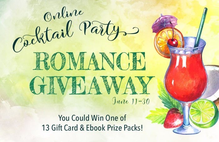 Time to Par-Tay! Enter for your chance to win! Join us for our Online Cocktail Party #Romance #Giveaway, June 11-30.
