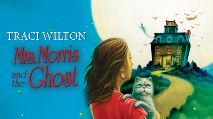 Mrs. Morris and The Ghost by Traci Wilton #NewRelease #Mystery @tracihallauthor @PatriceWilton