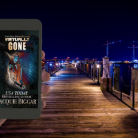 High-Tech Crime Solvers Presents Virtually Gone by @Jacqbiggar #Suspense #Read