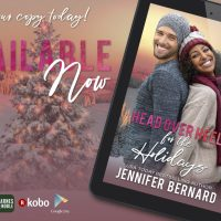#NewRelease- Head Over Heels for the Holidays by @Jen_Bernard #HolidayRomance #RomanceReading