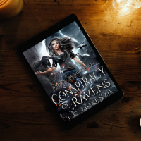Raven will do anything to protect her twin, even agree to a dark fae deal- Conspiracy of Ravens @JC_McKenzie #Fantasy #Suspense #Reading